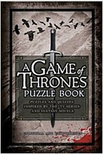 A Game of Thrones Puzzle Book (Hardcover)