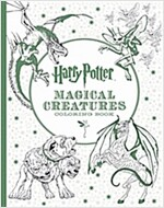 Harry Potter Magical Creatures Coloring Book (Paperback)