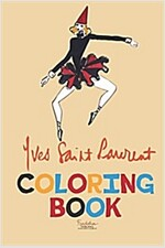 Yves Saint Laurent Coloring Book (Paperback)
