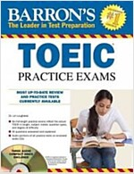 Barron's TOEIC Practice Exams [With 4 CDs] (Paperback)