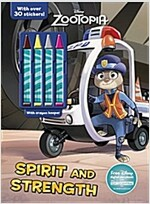 Disney Zootopia Spirit and Strength: With Crayon Keeper! (Paperback)