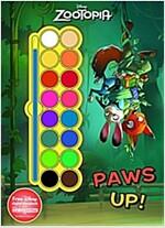 Disney Zootopia Paws Up! (Paperback)