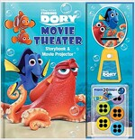Disney-Pixar Finding Dory Movie Theater Storybook & Movie Projector (Hardcover)