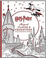 Harry Potter Magical Places & Characters Coloring Book (Paperback)