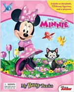 Disney Minnie My Busy Books (피규어 12종 포함) (Hardcover)