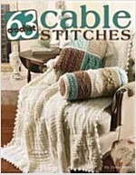 63 Crochet Cable Stitches (Paperback)