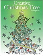 Creative Christmas Tree Coloring Book: A collection of classic & contemporary Christmas trees to color (Paperback)