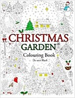 Christmas Garden: Colouring Book (Paperback)