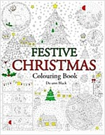Festive Christmas: Colouring Book (Paperback)