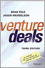 Venture Deals: Be Smarter Than Your Lawyer and Venture Capitalist (Hardcover, 3)