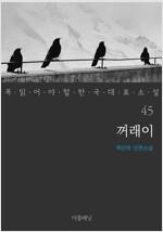 꺼래이 - 꼭 읽어야 할 한국 대표 소설 45