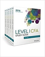 Wiley Study Guide for 2016 Level I Cfa Exam: Complete Set (Paperback, 2)