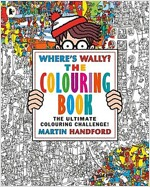 Where's Wally? The Colouring Book (Paperback)
