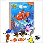 Disney Finding Nemo : My Busy Books (미니피규어 12개 포함) (Hardcover, 미니피규어 12개 포함)