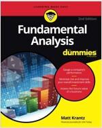 Fundamental Analysis for Dummies (Paperback, 2)