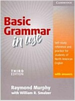 Basic Grammar in Use Student's Book with Answers : Self-study reference and practice for students of North American English (Paperback, 3 Revised edition)