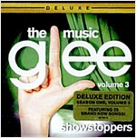 [중고] Glee O.S.T. - The Music Volume 3 Showstoppers [Deluxe Edition]