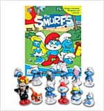 The Smurfs My Busy Book (미니피규어 12개 포함)