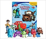 Disney Pixar Fantastic Friends : My Busy Books (미니피규어 12개 포함)