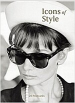 Icons of Style : 20 Postcards (Postcard Book/Pack)