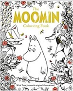 The Moomin Colouring Book (Paperback, Main Market Ed.)
