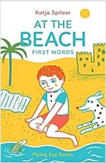 At the Beach: First Words (Hardcover)