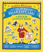 Encore, Mr William Shakespeare! : A Sticker Activity Book (Paperback)