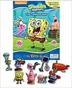 My Busy Books : Spongebob (미니피규어 12개 포함) (Board book)