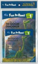 The Good Dinosaur :  Arlo's Adventure (굿 다이노) (Paperback + CD)