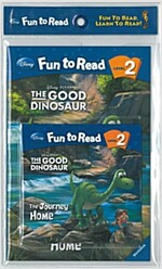 The Good Dinosaur :  The Journey Home (굿 다이노) (Paperback + CD)