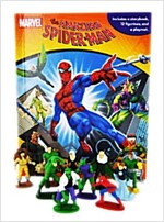 My Busy Books : Amazing Spider-Man (미니피규어 12개 포함)