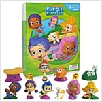 My Busy Books : Bubble Guppies (미니피규어 12개 포함) (Board book)