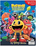 My Busy Book : Pac-Man and the Ghostly Adventures (미니피규어 12개 포함) (Board book)