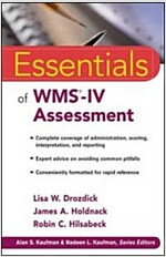 Essentials of WMS-IV Assessment (Paperback)