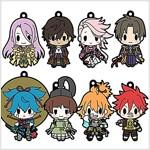 D4 刀劍亂舞-ONLINE- ラバ-ストラップコレクション Vol.5 BOX商品 1BOX = 8個入り、全8種類 (おもちゃ&ホビ-)