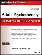 Adult Psychotherapy Homework Planner (Paperback, 5)