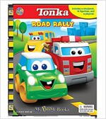 My Busy Book : Tonka Road Rally (미니피규어 12개 포함) (Board book)