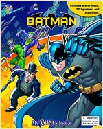 My Busy Books : Batman (미니피규어 12개 포함) (Board book)
