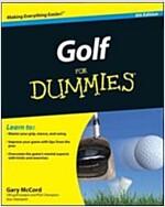 Golf For Dummies (Paperback, 4 Rev ed)