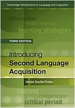 Introducing Second Language Acquisition (Paperback, 3 Rev ed)