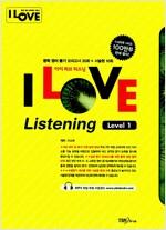 [중고] I Love Listening 중학 영어 듣기 모의고사 Level 1 (테이프 별매)