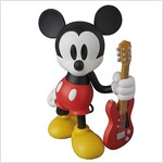 VCD MICKEY MOUSE(Guitar Ver.)ノンスケ-ル PVC製 塗裝濟み完成品フィギュア (おもちゃ&ホビ-)