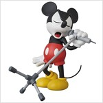 VCD MICKEY MOUSE(Microphone Ver.)ノンスケ-ル PVC製 塗裝濟み完成品フィギュア (おもちゃ&ホビ-)