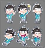 오소마츠상 클리어 스트랩 L 컬렉션즈 2 BOX (1BOX = 6개입, 총 6종) (おもちゃ&ホビ-)