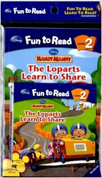 The Loparts Learn to Share (Paperback + Workbook + Audio CD 1장)
