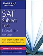 Sat Subject Test Literature (Paperback, 10th)