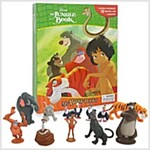 Disney The Jungle Book My Busy Book (미니 피규어 12개 포함) (Hardcover)