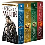 Song of Ice & Fire 4v: A Game of Thrones, a Clash of Kings, a Storm of Swords, and a Feast for Crows (Boxed Set)