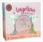 Angelina Ballerina 11 Book Pack (11 paperback + 1 CD)