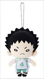 하이큐-!! 니토탄 볼체인 누이구루미 이와이즈미 (길이 약 13cm) (おもちゃ&ホビ-)